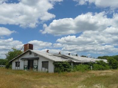 abandoned Epstein egg farm