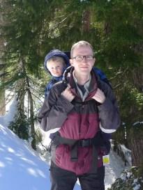 Snow shoeing on Cypress Mountain
