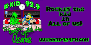 K-KID 92.9fm The Boogie Capital of the Ozarks!