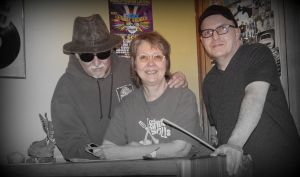John Galbraith with Nick and Bootsy after Show #232 on Easter Sunday 2015