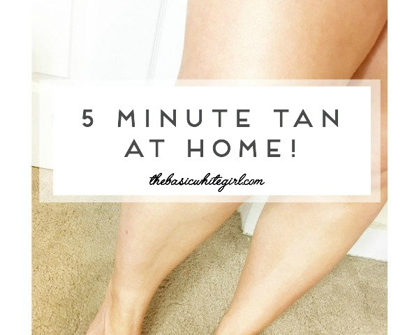 5 Minute Tan At Home