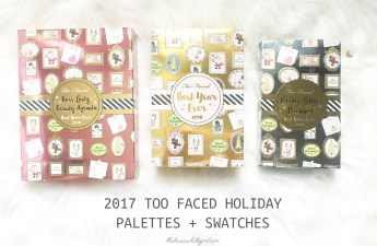 2017 Too Faced Holiday