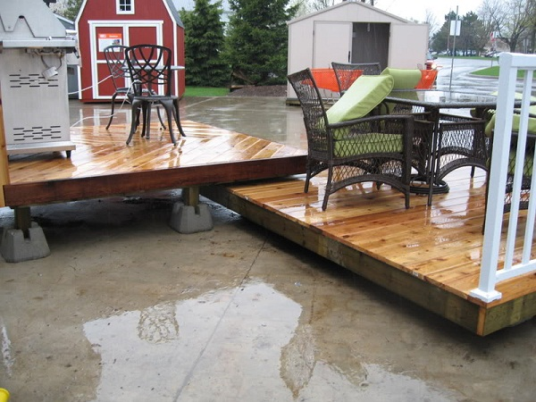 Do It Yourself Home Design: Steps On How To Build A Floating Deck