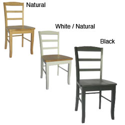 Different types of Ladder-back Chairs