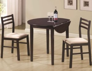 Facts about drop leaf dining tables the basic woodworking for Basic dining table