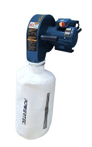 POWERTEC DC5370 Wall Dust Collector