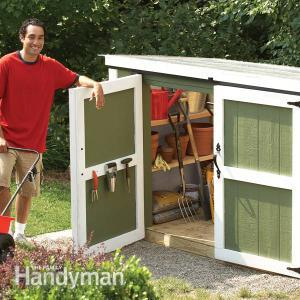 storage locker for outdoor tools