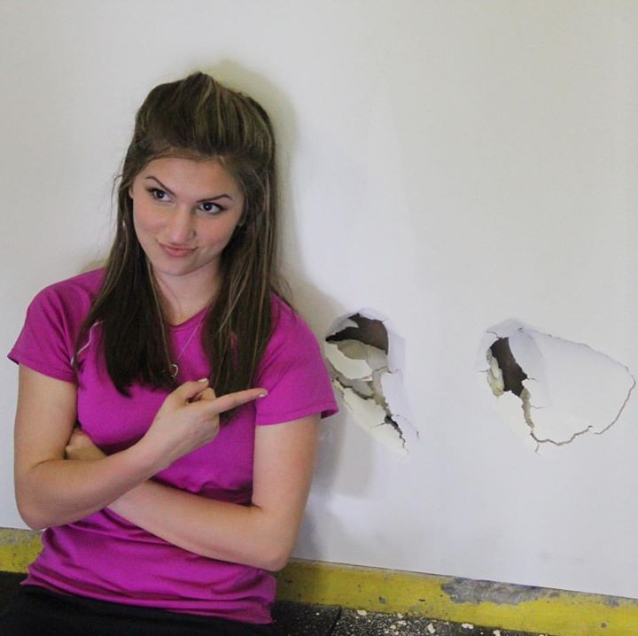 Yes, there's a funny story to these holes in the wall! Watch Bringing Up…