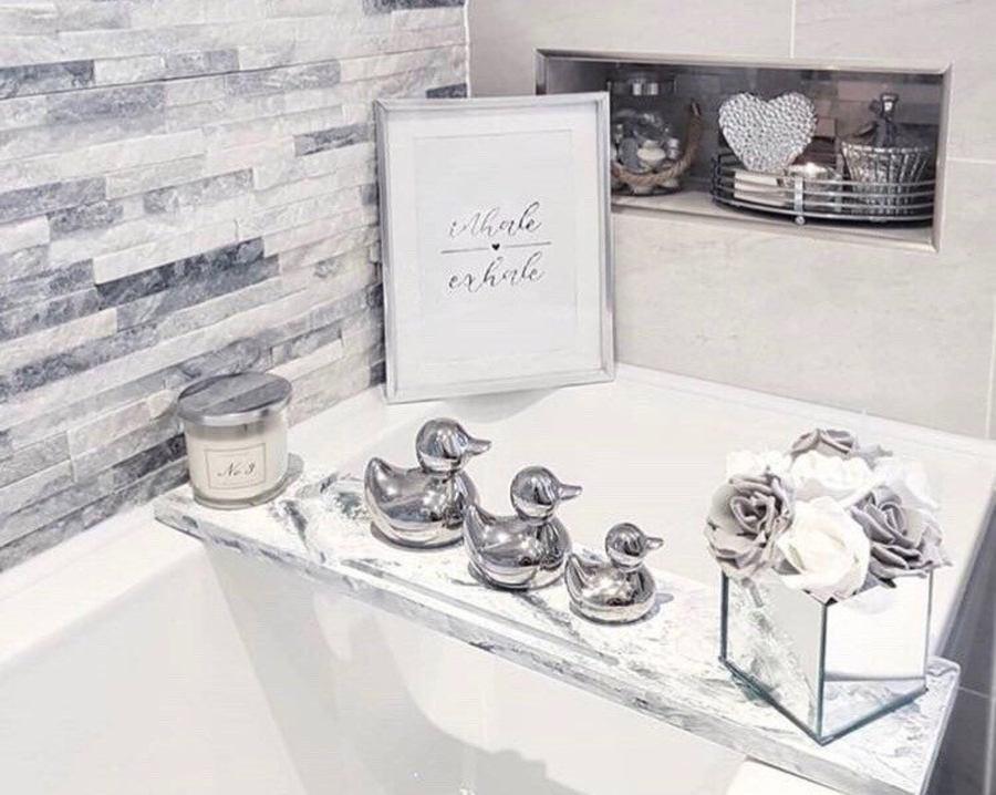 Luxury bath racks