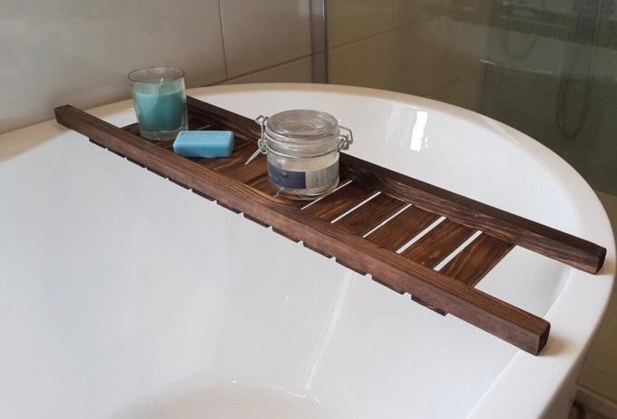 Rustic Bath Racks