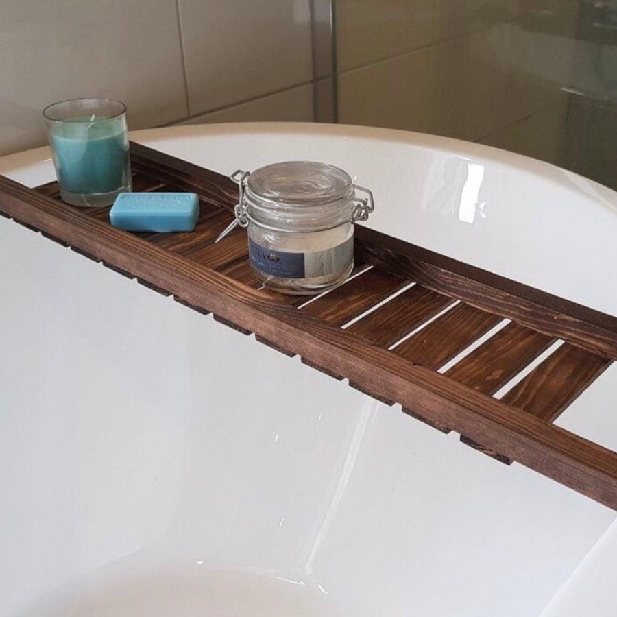 Rustic Bath Racks