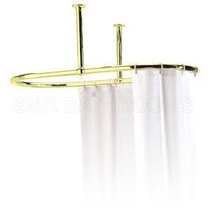 shower curtain rails bathroom accessories
