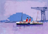 The Waverley on the Clyde by Colin Ruffell