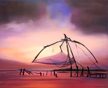 Cochin Chinese Fishing Nets, Kerala