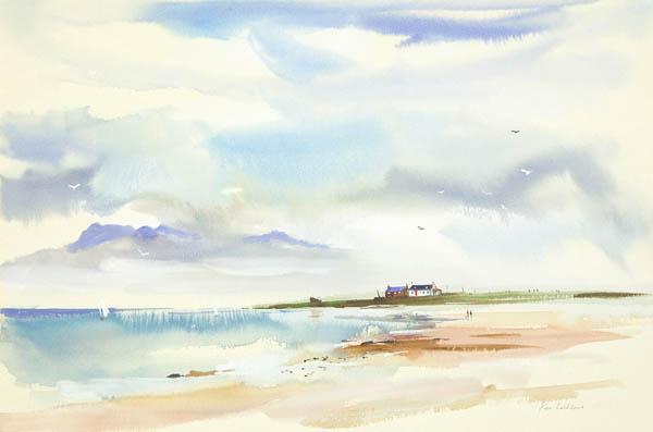 St. Ninian's Bay, Isle of Bute by Ken Lochhead