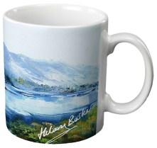 Loch Lubnaig - Ceramic Gift Mug by Hilary Barker
