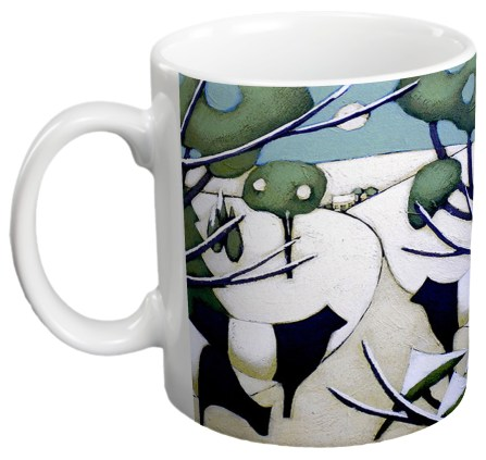 Heading Home Gift Mug by Fiona Millar