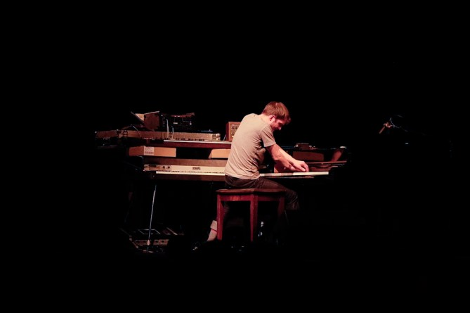 Nils Frahm @ The Independent 3/17/14 - photo by Nicole Browner