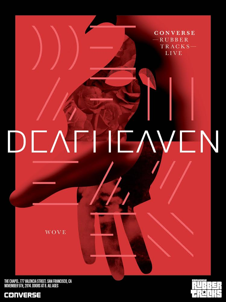 Deafheaven Converse Rubber Tracks Live at The Chapel