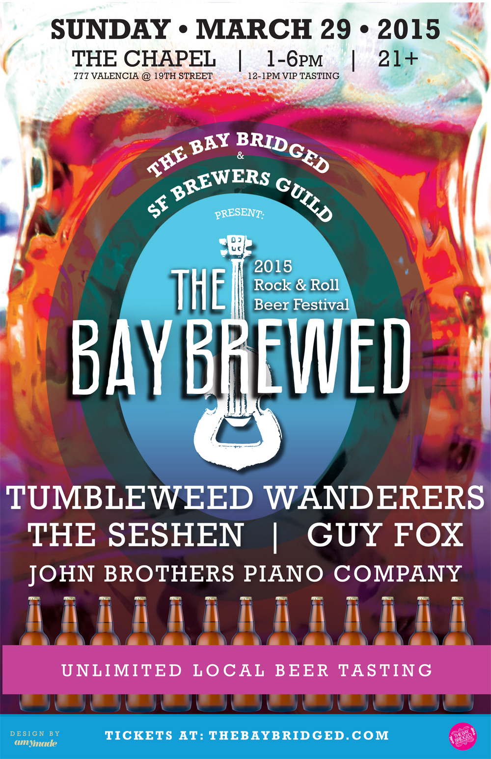 The Bay Brewed 2015: SF's only rock and roll beer festival returns in March!