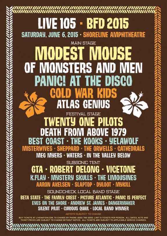 BFD 2015 poster