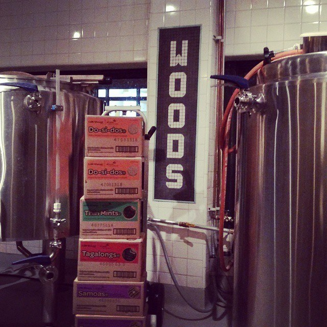 Woods Beer Company (cookie beer)