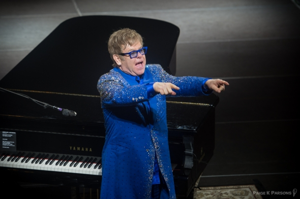 Elton John at Outside Lands, by Paige Parsons