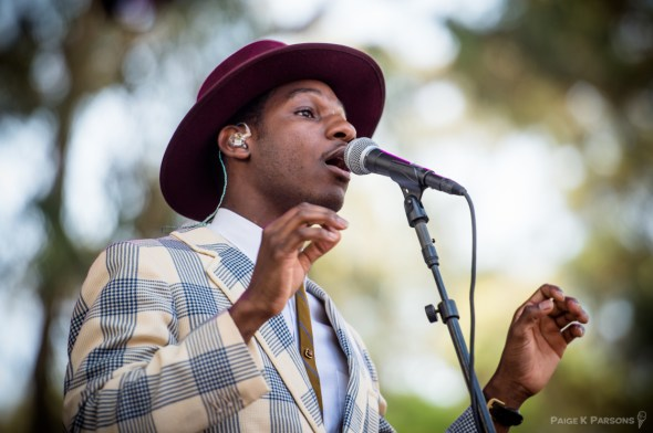 Leon Bridges at Outside Lands, by Paige Parsons