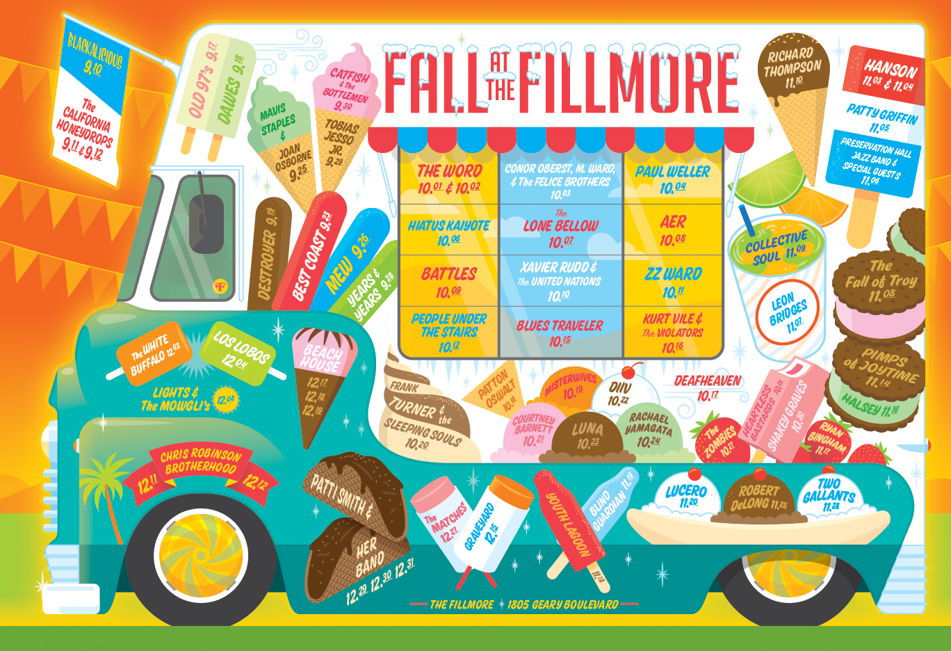 Fall at the Fillmore 2015