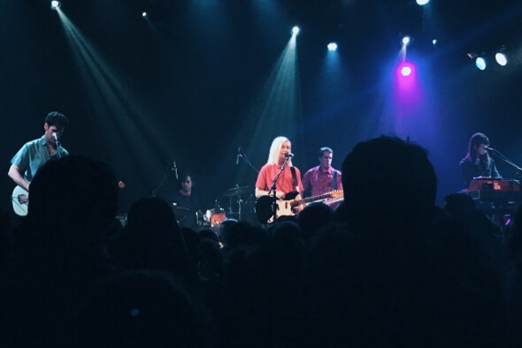 Alvvays at the Independent