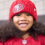 Young 49ers Fan at SAP Center, by Jon Bauer