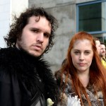 Jon Snow and Ygritte Silicon Valley Comic Con at the San Jose Convention Center, by Jon Bauer