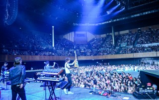 Finish Ticket at Bill Graham Civic Auditorium, by Brittany O'Brien