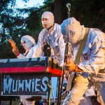 The Mummies at Burger Boogaloo, by Jon Ching