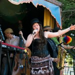 Royal Jelly Jive at the Railroad Square Music Festival, by Estefany Gonzalez