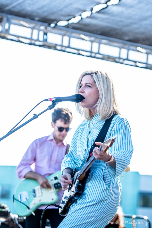 Alvvays at Phono del Sol 2016, by Paige K. Parsons