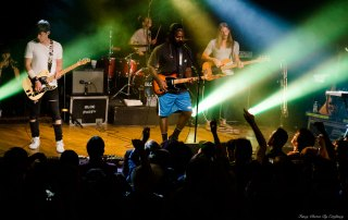 Bloc Party at Mezzanine, by Estefany Gonzalez