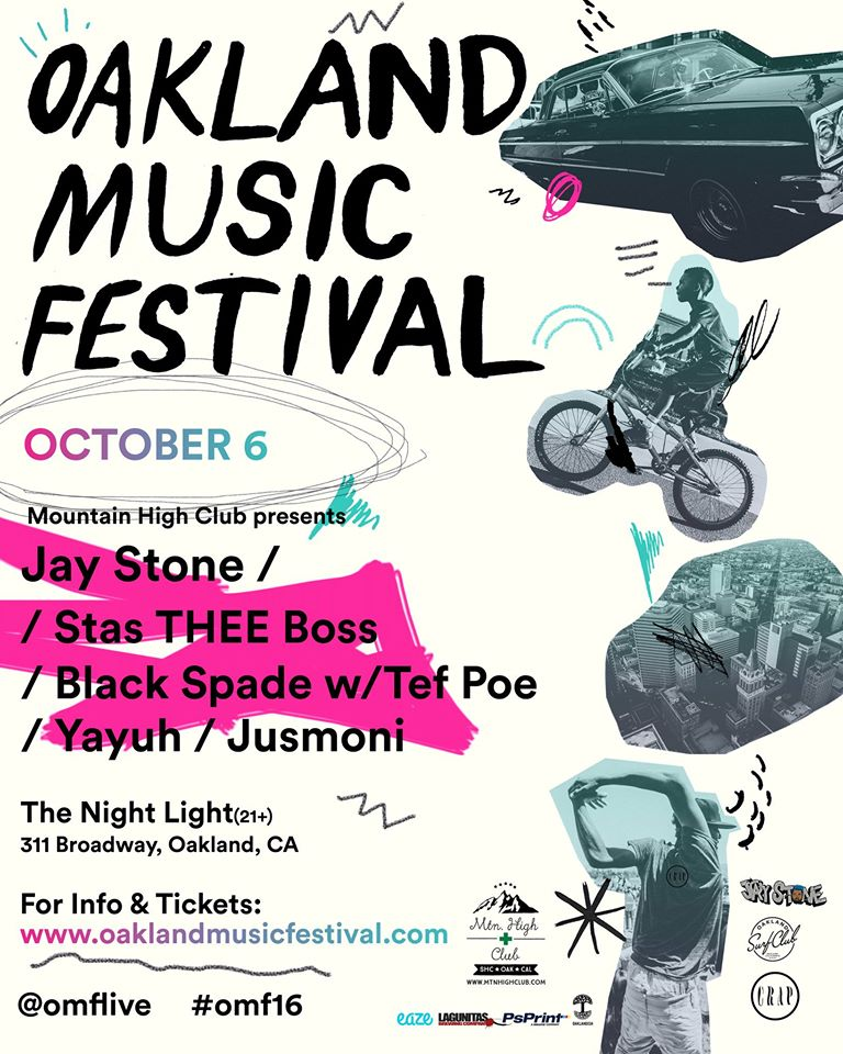 Jay Stone show poster