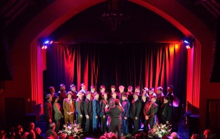 Conspiracy Of Beards at Leonard Cohen Tribute at The Chapel, by Jon Bauer