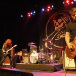 Against Me! at The Warfield, by Joshua Huver