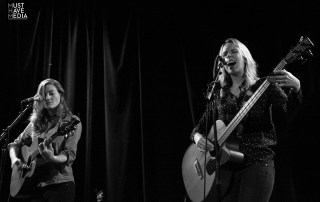Nataly Dawn and Lauren O'Connell at The Chapel, by Joshua Huver