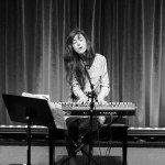 Julia Holter at the Swedish American Hall for Noise Pop 2017, by Jon Bauer