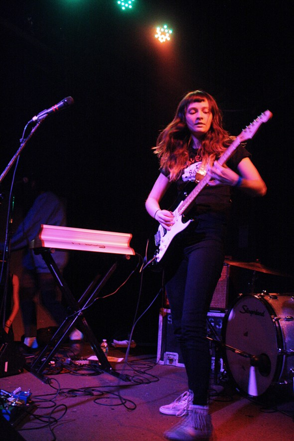 Cherry Glazerr at The Catalyst, by Kaiya Gordon