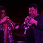 Eric Bolivar with Wil Blades and Jennifer Hartswick at The Boom Boom Room, by Joshua Huver