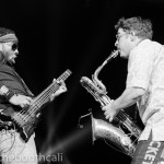 Trombone Shorty at The Oracle, by Ria Burman