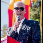 John Waters at Burger Boogaloo 2017, by Patric Carver
