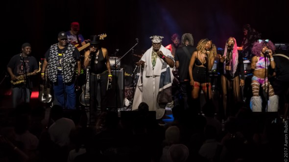 George Clinton & Parliament Funkadelic at the Cornerstone, by Aaron Rubin