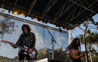 Courtney Barnett & Kurt Vile & The Sea Lice at Hardly Strictly Bluegrass 2017, by Ria Burman