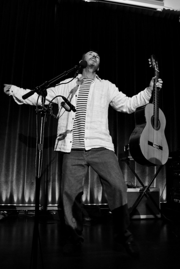 Jonathan Richman at The Swedish American Hall, by William Wayland