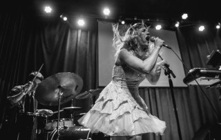 Rachel Lark and the Damaged Goods at Brick and Mortar Music Hall, by Robert Alleyne